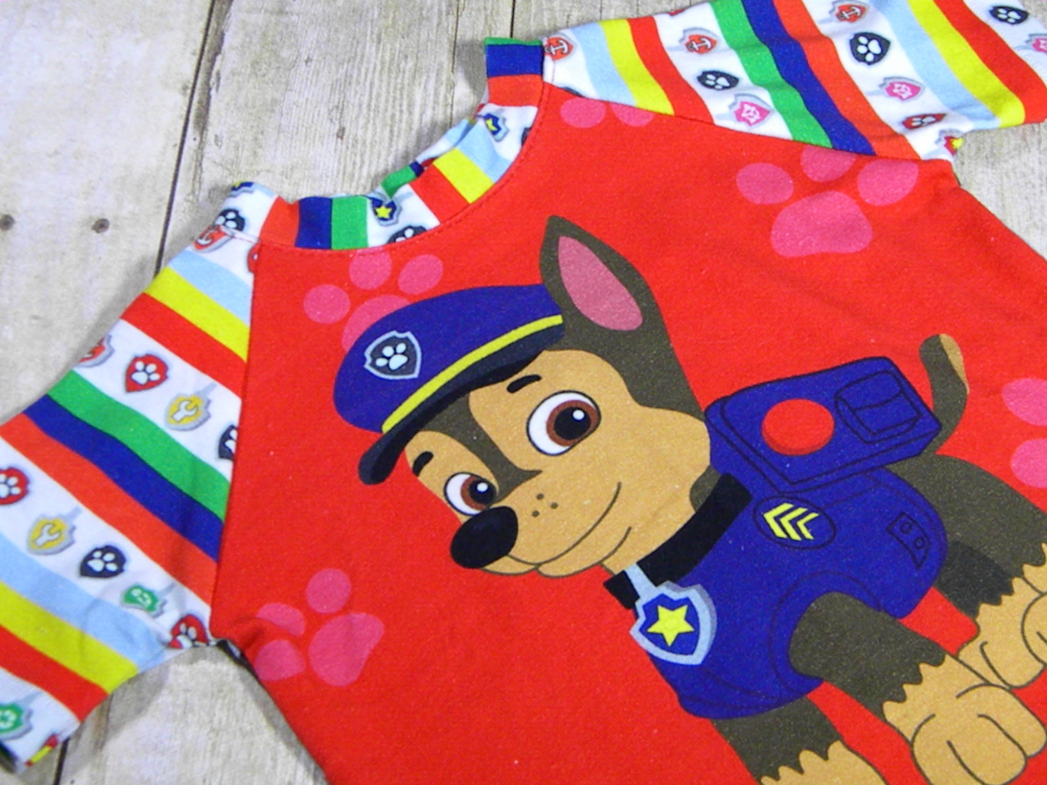 Pups on Patrol Basic Tee Size 12 Months
