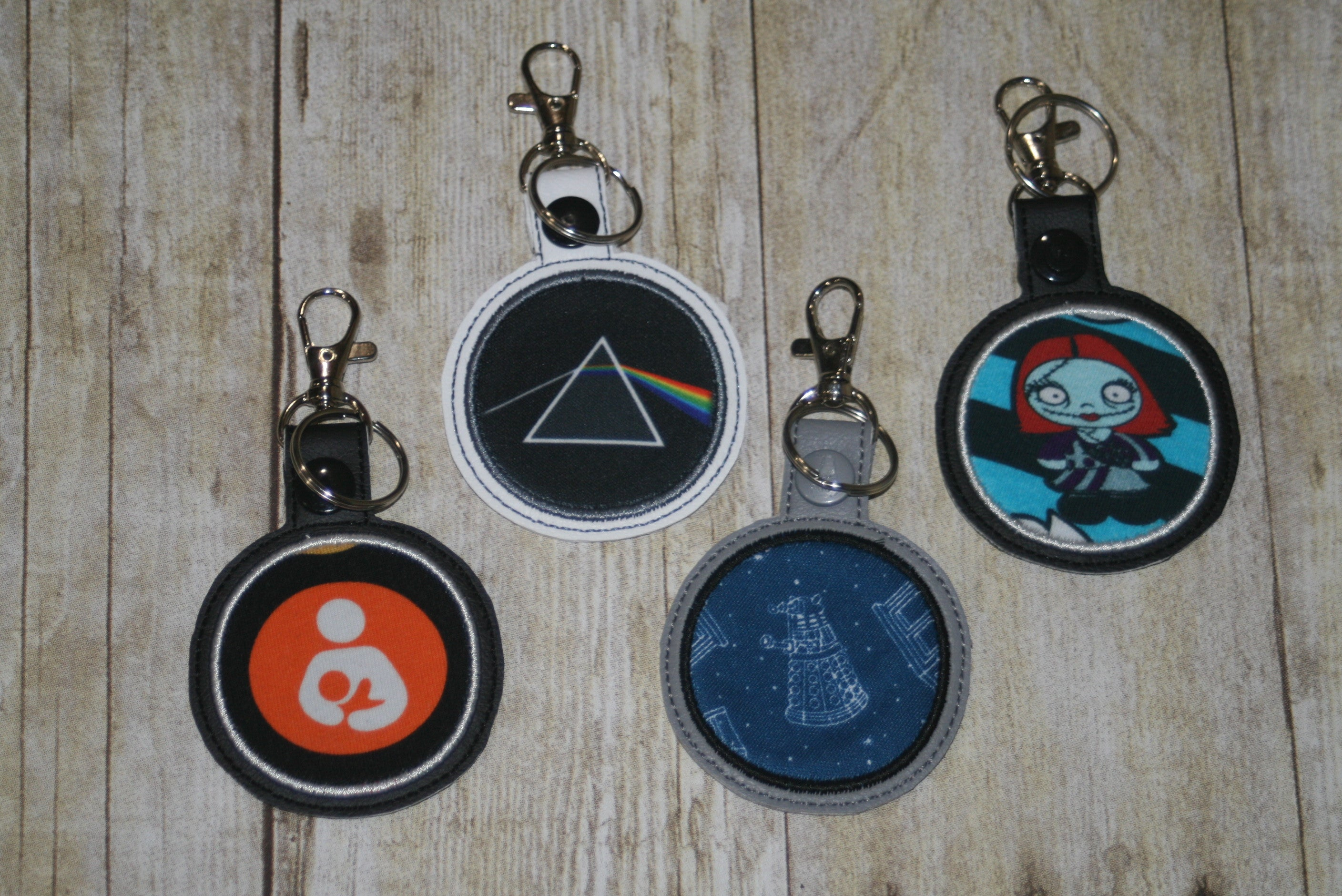 Round Key Chains - Group 1