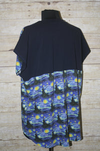 Starry Skyline Sporty Piko Size Large