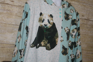 Panda Hoodie Size 9/10 *seconds*