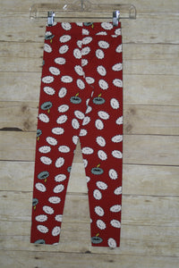 Mustache Cranky Clouds Basic Leggings Multiple Sizes