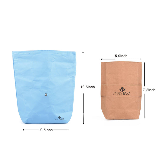 Reusable sandwich bags & snack container for lunch.-Simply Eco Store