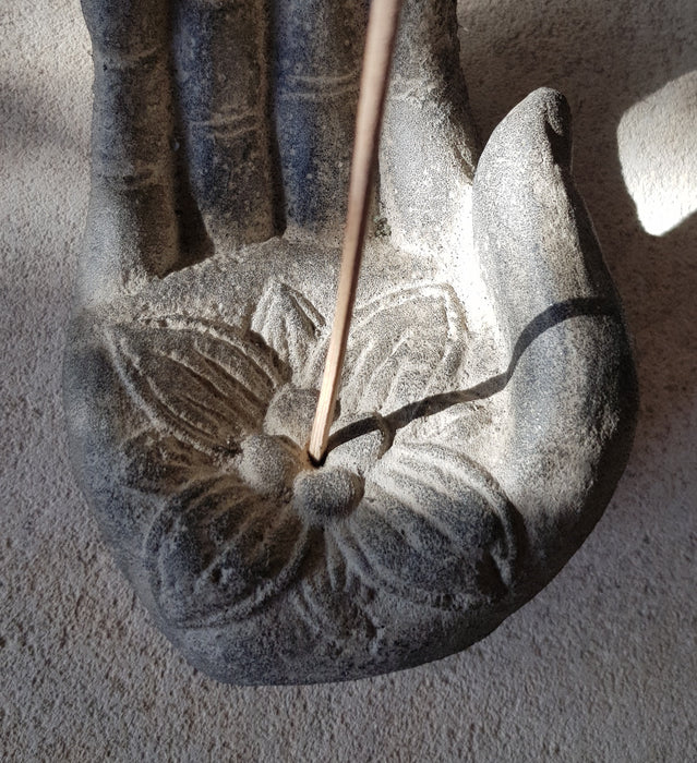 Hand Incense Holder