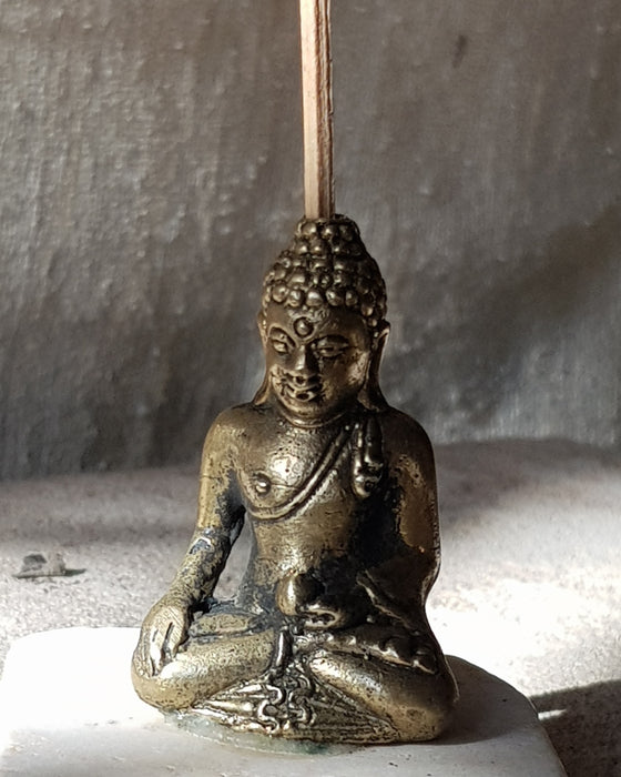 Brass Buddha Incense Holder