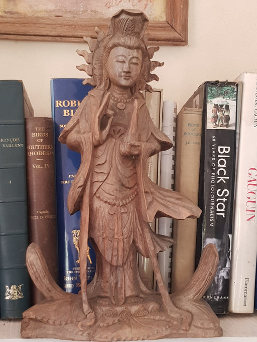 Quan Yin - Hand Carved Wood