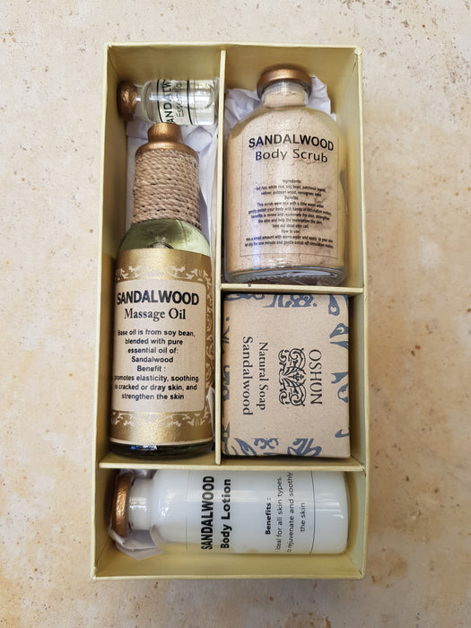 Sandalwood Spa Gift Set