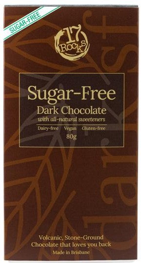 17 Rocks Dark Chocolate Sugar Free