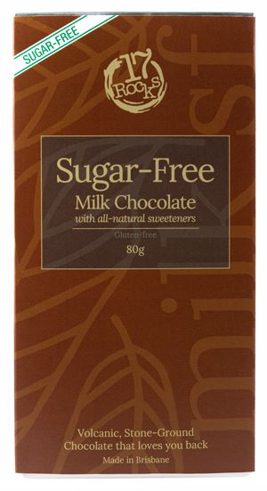 17 Rocks Milk Chocolate Sugar Free