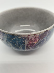 KYS Dark blue/purple/grey rounded bowl