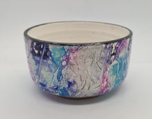 Load image into Gallery viewer, KYS Purple/Blue/Silver rounded bowl