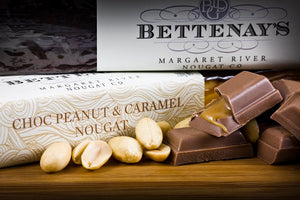 Bettenays Margaret River Chocolate Peanut Caramel Nougat