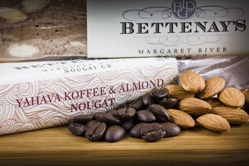 Bettenays Margaret River Yahava Coffee & Almond Nougat