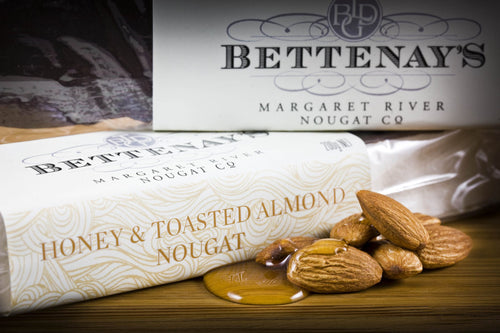 Bettenays Margaret River Honey & Toasted Almond Nougat