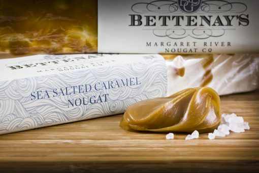 Bettenays Margaret River Sea Salted Caramel Nougat
