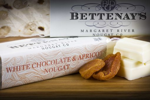 Bettenays Margaret River White Chocolate & Apricot Nougat