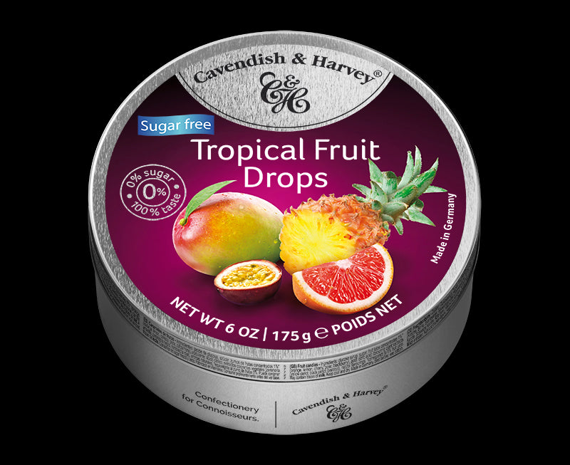 Cavendish & Harvey Tropical Fruit Sugar Free Drops
