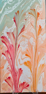 KYS acrylic on canvas - Flowers of the Reef