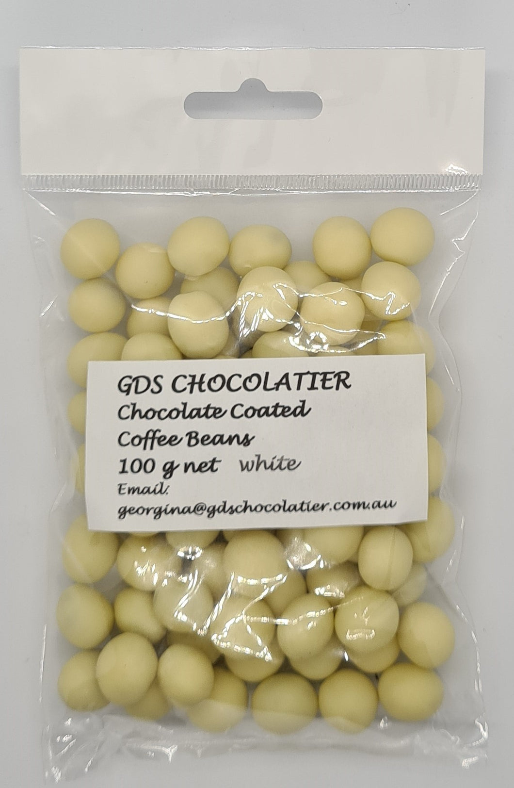 GDS White Chocolate Coated Coffee Beans