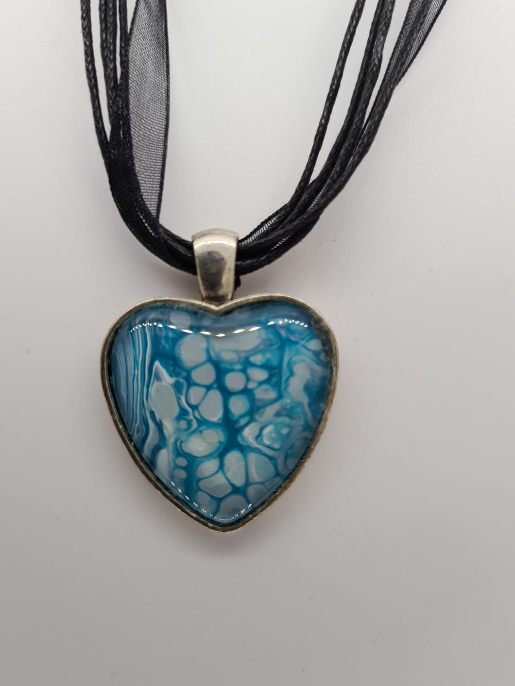 KYS Aqua Heart Necklace