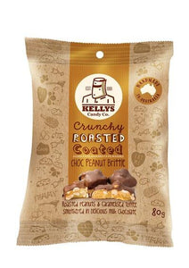 Kellys Candy Co. Chocolate Peanut Brittle