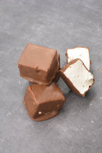 Load image into Gallery viewer, New Farm Confectionery Milk Chocolate Dipped Vanilla Marshmallows