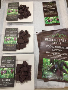 Misty Mountain Cocoa Platinum 75% Dark Chocolate