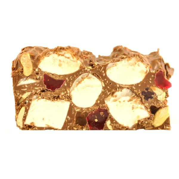 Poppy's Chocolate Rocky Road - Peanut Jelly & Coconut Milk Chocolate