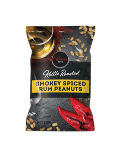 Wicked Nuts Smokey Spiced Rum Peanuts