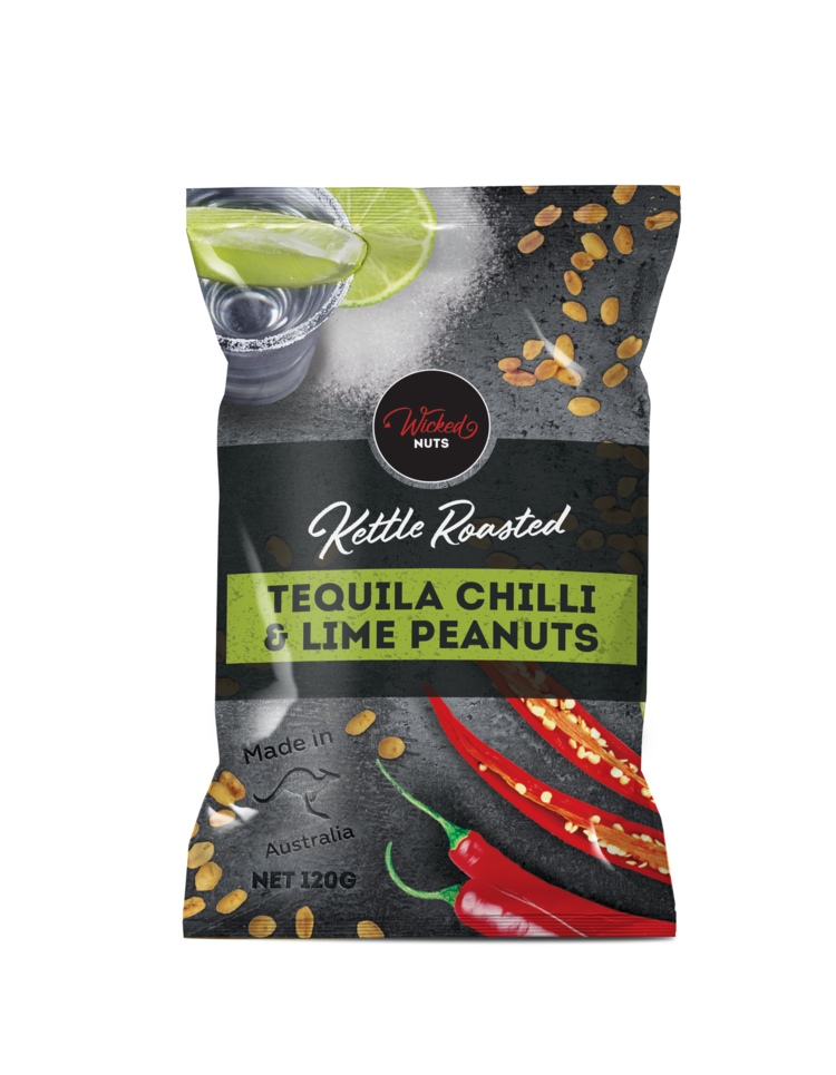 Wicked Nuts Tequila Chili Lime Peanuts