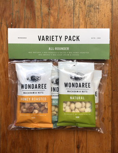 Wondaree Variety Pack Macadamias