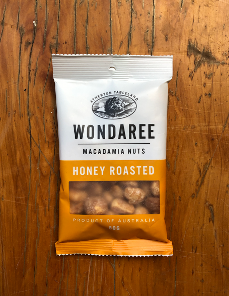 Wondaree Honey Roasted Macadamias