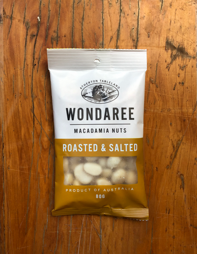Wondaree Roasted & Salted Macadamias
