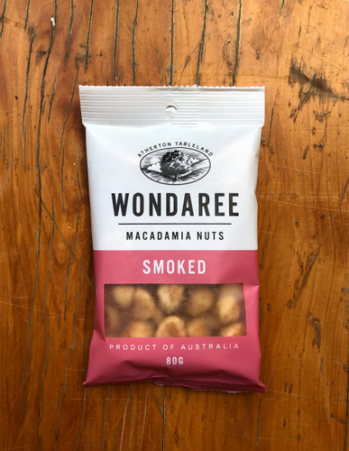 Wondaree Smoked Macadamias