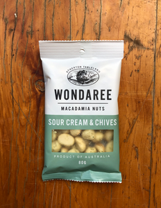 Wondaree Sour Cream & Chives Macadamias