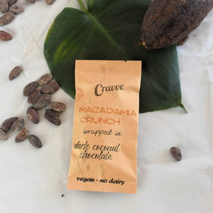 Cravve Macadamia Praline Crunch Bar