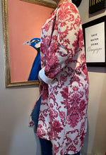 Load image into Gallery viewer, Jacquard Print Overcoat