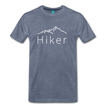 Load image into Gallery viewer, Men's Hiker T-Shirt - heather blue