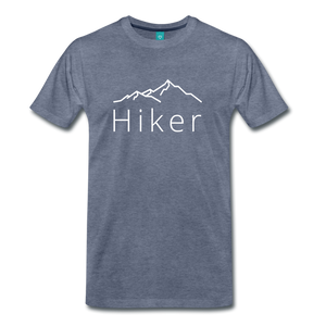 Men's Hiker T-Shirt - heather blue