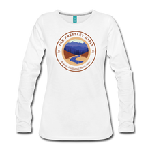 Load image into Gallery viewer, Women's The Pressley Girls Long Sleeve T-Shirt - white