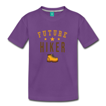 Load image into Gallery viewer, Toddler Future Hiker T-Shirt - purple