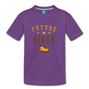 Toddler Future Hiker T-Shirt - purple