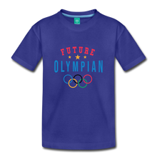 Load image into Gallery viewer, Toddler Future Olympian T-Shirt - royal blue