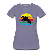 Load image into Gallery viewer, Women's Jumping Sun T-Shirt - washed violet
