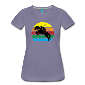 Women's Jumping Sun T-Shirt - washed violet