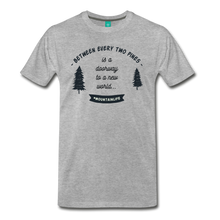 Load image into Gallery viewer, Men's Between Every Two Pines T-Shirt - heather gray