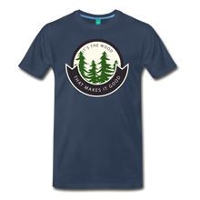 Load image into Gallery viewer, Men's Its the Wood T-Shirt - navy