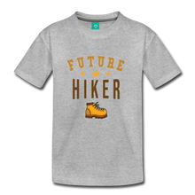 Load image into Gallery viewer, Kids' Future Hiker T-Shirt - heather gray