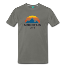 Load image into Gallery viewer, Mountain Life Shirt - asphalt
