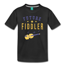 Load image into Gallery viewer, Kids' Future Fiddler T-Shirt - black