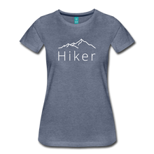 Load image into Gallery viewer, Women's Hiker T-Shirt - heather blue
